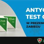 Antygenowy test Covid-19 w prezencie do zabiegu wazektomii
